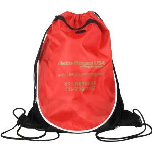 Cleto Reyes Drawstring Backpack - Black/Red
