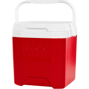 IGLOO Laguna 12 qt. Hard Cooler - Red