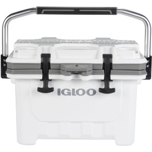 IGLOO IMX 24 qt. Hard Cooler - White