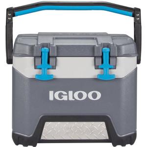 IGLOO BMX 25 qt. Hard Cooler - Carbonite Gray/Carbonite Blue