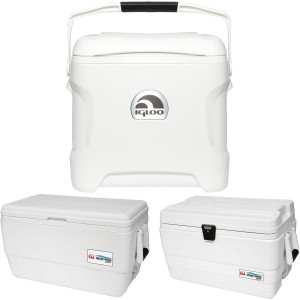 IGLOO Marine Ultra Hard Cooler - White