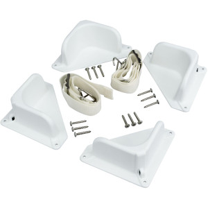 IGLOO Universal Tie Down Kit for Coolers - White