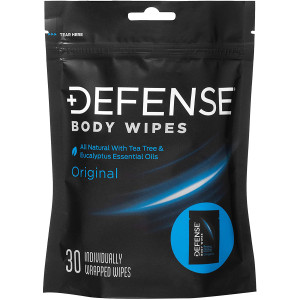 Defense Soap Original Body Wipes - 30 Wipes