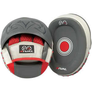 Rival Boxing RPM80 Impulse Punch Mitts - Gray