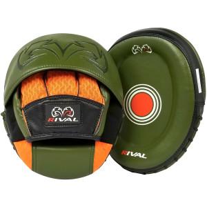 Rival Boxing RPM80 Impulse Punch Mitts - Khaki Green