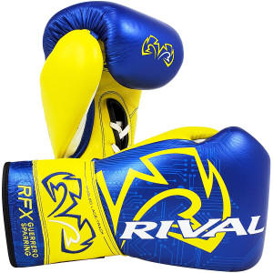 Rival Boxing RFX-Guerrero Gloves P4P Edition - Blue/Yellow
