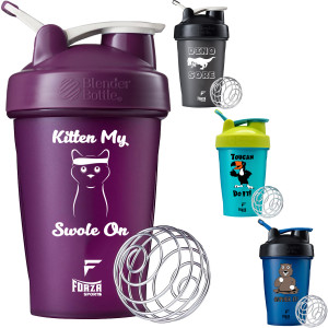 Blender Bottle x Forza Sports Classic 20 oz. Shaker Mixer Cup with Loop Top