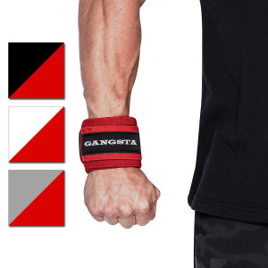 Sling Shot Gangsta Flex Wrist Wraps by Mark Bell