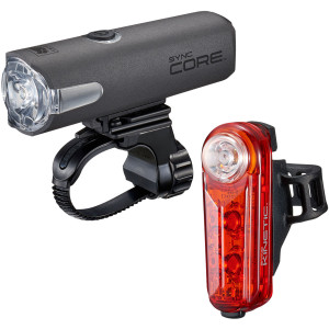 CatEye Sync Core and Kinetic Bicycle Light Kit - NW100RC/NW100K Set