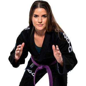 Tatami Fightwear Women's Zero G V4 Advanced Lightweight BJJ Gi - Black