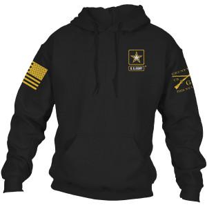 Grunt Style Army - Basic Full Logo Pullover Hoodie - Black