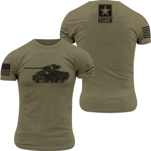Grunt Style Army - Sherman T-Shirt - Military Green