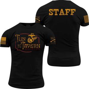 Grunt Style USMC - Tun Tavern Staff T-Shirt - Black