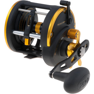 Penn Squall Level Wind Reel - Gear Ratio: 4.9:1 - Size: 30 - Left Hand