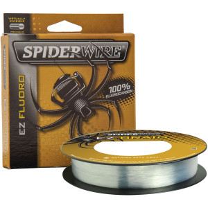 SpiderWire EZ Fluoro 200 Yard 100% Fluorocarbon Fishing Line - Clear