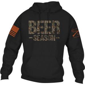 Grunt Style Realtree Edge - Beer Season Pullover Hoodie - Black