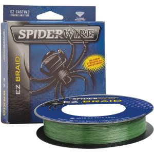 SpiderWire EZ Braid 110 Yard Fishing Line - 10 lb. Test - Moss Green