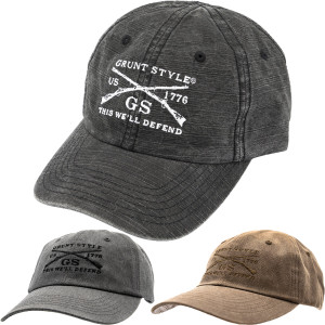 Grunt Style Embroidered Wash Hat