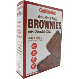 Universal Nutrition CarbRite Diet Maltitol-Free Low-Carb Brownie Mix