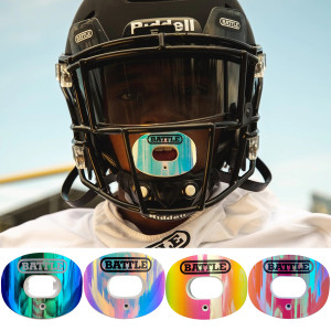 Battle Sports Science Iridescent Oxygen Lip Protector Mouthguard