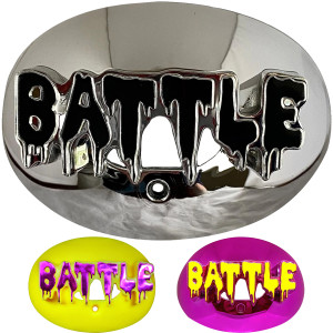 Battle Sports Science 3D Drip Chrome Oxygen Lip Protector Mouthguard