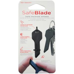 Keysmart SafeBlade Skin-Safe Plastic Box Cutter - Black