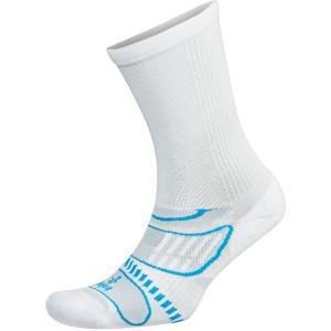 Balega UltraLight Crew Running Socks - White/French Blue