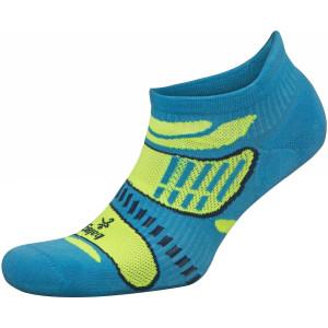 Balega UltraLight No Show Running Socks - French Blue/Lime