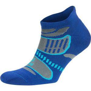 Balega UltraLight No Show Running Socks - Cobalt/Light Gray