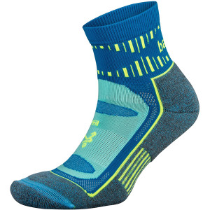 Balega Blister Resist Quarter Running Socks - Ethereal Blue