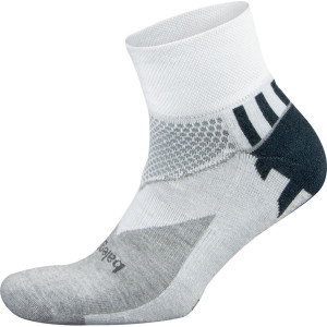 Balega Enduro Quarter Running Socks - White