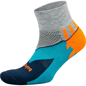 Balega Enduro Quarter Running Socks - Midgray/Ink