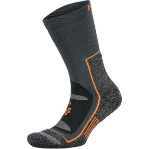 Balega Blister Resist Crew Running Socks - Gray/Orange