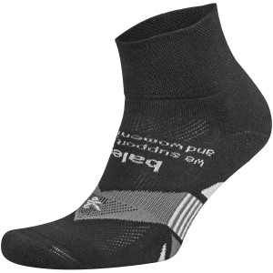 Balega Enduro Physical Training Quarter Running Socks - Black