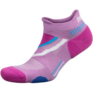 Balega UltraGlide No Show Running Socks - Bright Lilac/Pinkberry