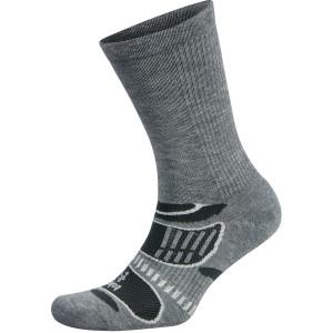 Balega UltraLight Crew Running Socks - Gray/White