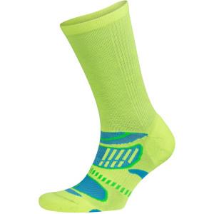 Balega UltraLight Crew Running Socks - Neon Lime/Ethereal Blue