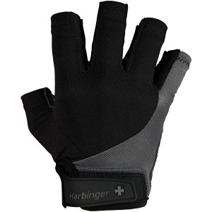 Harbinger BioFlex Elite Weight Lifting Gloves - Gray