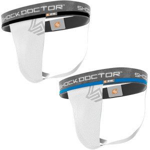 Shock Doctor Core Athletic Supporter without Cup Pocket - White