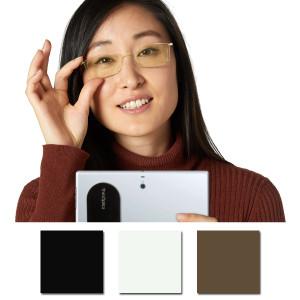 ThinOptics Brooklyn Blue Light Blocker Computer Reading Glasses with Milano Case