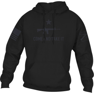 Grunt Style Come And Take It 2A Edition Pullover Hoodie - Black