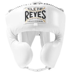 Cleto Reyes Cheek Protection Boxing Headgear - White