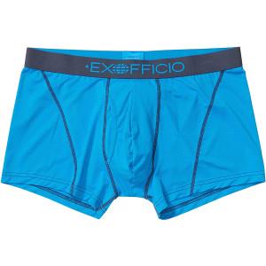 "ExOfficio Give-N-Go 2.0 Sport Mesh 3"" Boxer Briefs - Clear Blue/Navy"