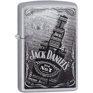 Zippo Jack Daniels Refillable Windproof Lighter