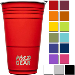 Wyld Gear 16 oz. Vacuum Insulated Stainless Steel Party Cup Tumbler