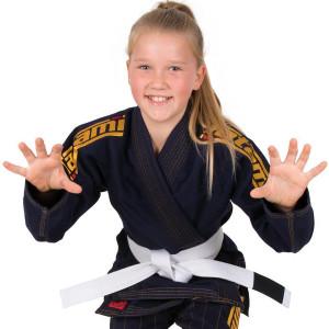 Tatami Fightwear Kid's Estilo 6.0 BJJ Gi - Navy/Gold