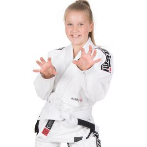 Tatami Fightwear Kid's Estilo 6.0 BJJ Gi - White/Black