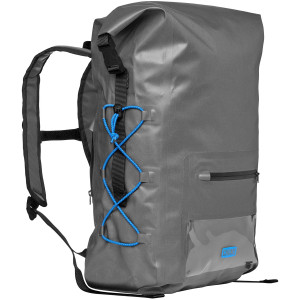 Chums Downriver 32L Waterproof Rolltop Backpack - Gray