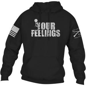Grunt Style Fck Your Feelings Pullover Hoodie - Black