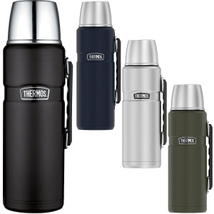 Thermos 2L Stainless King Vacuum Insulated Stainless Steel Beverage Bottle